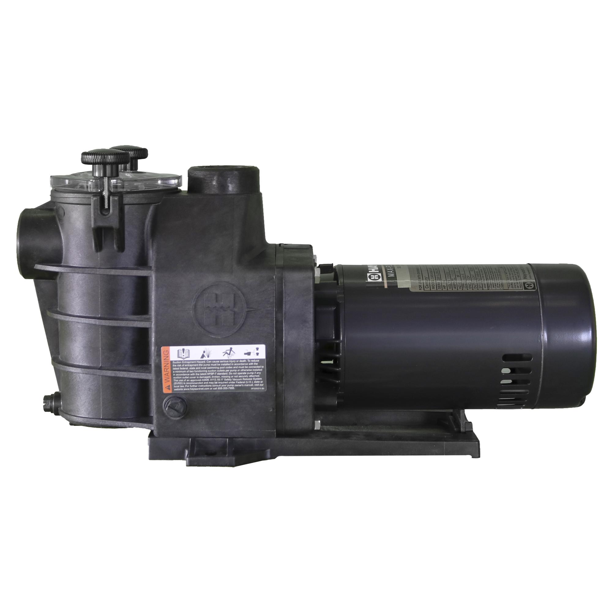 Bomba hayward de 3 4 hp mod max flo mono sp2805x7 for Bombas hayward para piscinas